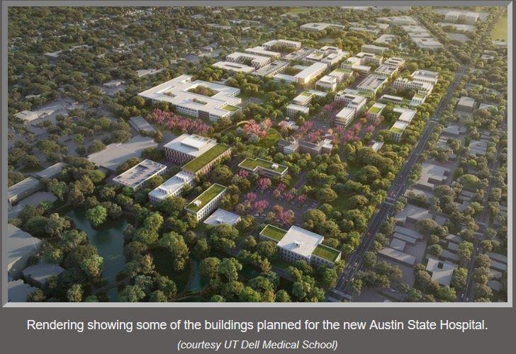 new austin state hopital renderins