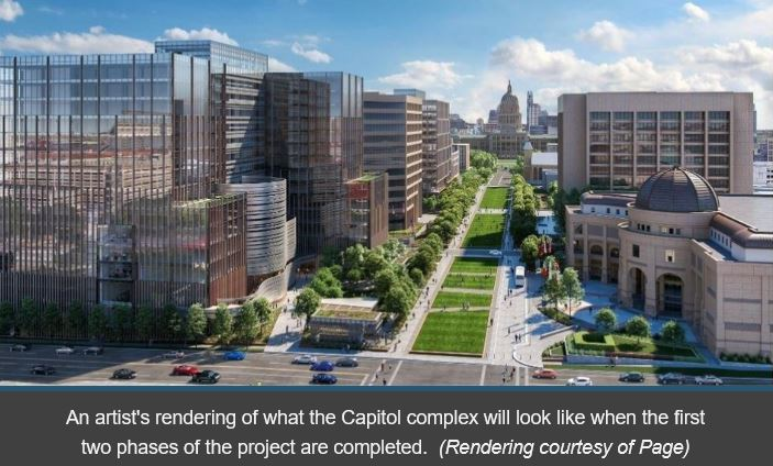 Texas Capitol Re-Development